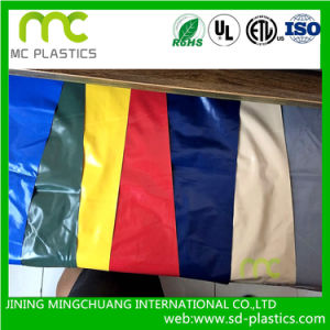 PVC Colored Film/Static Film/Non Phthalate/Print Available for Industrial, Food and Protection pictures & photos