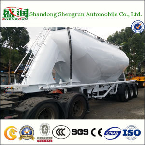 30cbm Vertical Type Cement Tanker Cement Tank Semi Trailer
