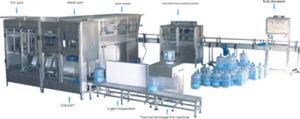 Automatic 18.9L / 5 Gallon Bottle Water Filling Machine (450 BPH) pictures & photos