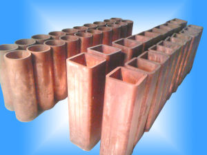 Copper Mould Tube/Tubular Mould for CCM From Tangshan Weilange pictures & photos