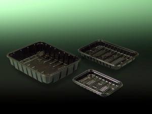 Disposable Plastic Meat Fruit Mushroom Packaging Tray