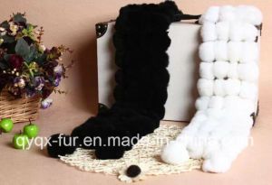 Sweet Style Women′s Rabbit Fur Scarf pictures & photos