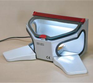 Em-Bx1 Dental Sandblaster Cabinet (wooden arm rests) pictures & photos