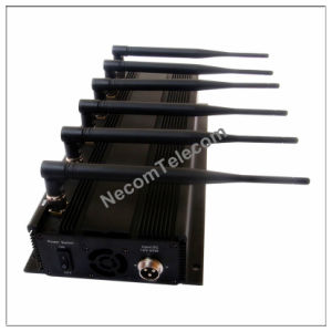 Built-in Antenna 6 Bands Mobile Signal Jammer, Mobile Signal Jamming System, Signal Blocker pictures & photos