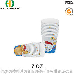 High Quality Disposable Coffee Cup with PE Coated (7 oz-26) pictures & photos