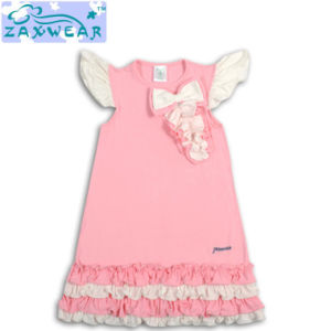 Zaxwear Brand New Design Small Girls Dresses/Baby Clothes pictures & photos
