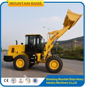 Hydraulic Chinese Wheeled 3ton Loaders Front End Loader Price pictures & photos