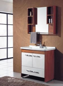 Modern Style Bathroom Vanity Solid Wood Bathroom Cabinet (ADS-654) pictures & photos