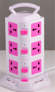 Universal Multi- Function Electrical 4USB Switched Socket (TD3U4)