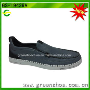 Hot Selling China Factory Men Casual Flat Leather Shoe pictures & photos