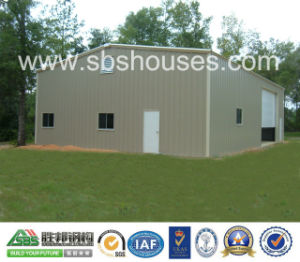 Metal Buildings with Insulated Steel Panel Warehouse/Garage pictures & photos