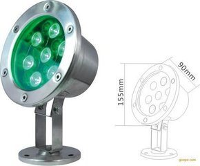 24V 140mm Underwater RGB Lamp Light pictures & photos