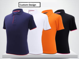 High Quality 100% Cotton Custom Men′s Polo Shirt (OEM) pictures & photos