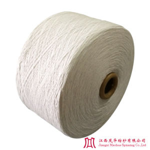 Recycled Bleached Polyester Cotton Yarn (10s)
