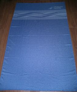 100% Polyester Fleece Airline Blanket with Flame Retardant (SSB0101) pictures & photos