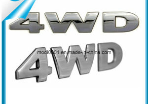 Chrome Car Logo, Plastic Chrome Lettering, Custom 3D ABS Car Stickers pictures & photos