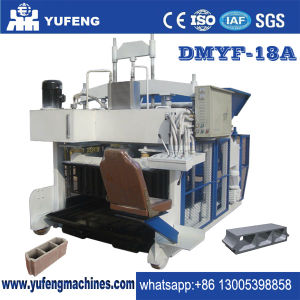 Dmyf-18A 18PCS Per Mold Concrete Hollow Cement Block Brick Making Machine Price for Sales