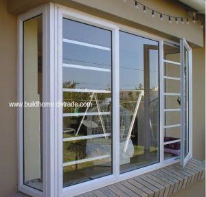 Security Burglar Proof Double Glass Aluminium Windows with Best Price pictures & photos