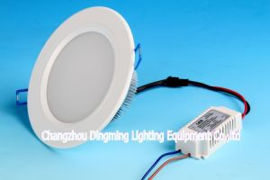Indoor Rooms Round White Ceiling Dowlight LED Bulb pictures & photos