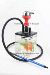 2016 New Style Portable Short Acrylic Shisha Hookah with LED Light pictures & photos