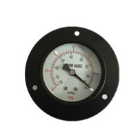 "4"" Manometer Black Steel Case Back Connecion with Front Flange pictures & photos"