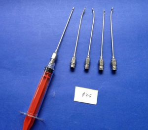 Dia 2.5mm Facial Liposuction Cannulas with Standard Luer-Lock Hub pictures & photos