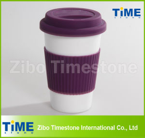 Ceramic Travel Mug with Silicon Lid and Sleeve (TM2013-GB) pictures & photos