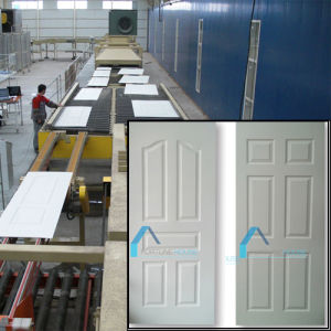 Lowest Price White Primer MDF HDF Door Skins pictures & photos