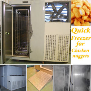 Stainles Steel Quick Freezer for 200kg Chicken Nuggets pictures & photos