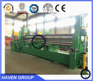 W11H-16X2500 3 rolls Automatic plate industrial bending rolling machine pictures & photos