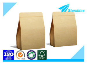 Fine Kraft Paper Bags pictures & photos