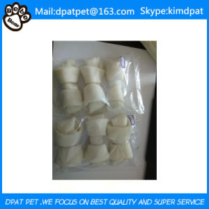 China Manufacturer Private Label Dog Chew Porkhide Twists Dog Treats pictures & photos