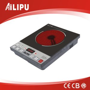 High Quality Push Control Electric Infrared Cooker (SM-DT201) pictures & photos