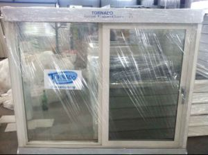 Plastic Window and Door for Wooden House and Concrete Buildings pictures & photos