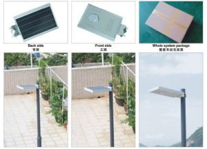 15W Integrated LED Solar Street Light for Home Using pictures & photos