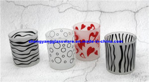Candlestick/Candle Cups/ Frosted Candlestick/Festival Decoration/ Party Decoration pictures & photos