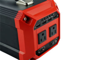 Portable Solar Generator Mini Home Solar Power Kit with 300W Inverter pictures & photos