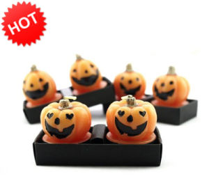 Halloween Pumpkin Craft Candle Gift (RC-0019) OEM