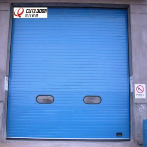 Automatic Industrial Warehouse Double Steel Overhead Sectional Door pictures & photos