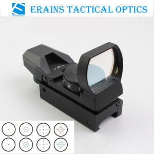 Tactical Reflex Sight and Reflex Scope with 4 Variable Both Red Green DOT Reticles (1X22X33 or FM400) pictures & photos