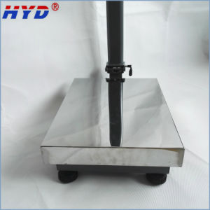 Haiyida Dual Power LED/LCD Display Platform Scale pictures & photos