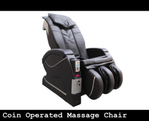 Airport & Salon Coin Operated Massage Chair pictures & photos