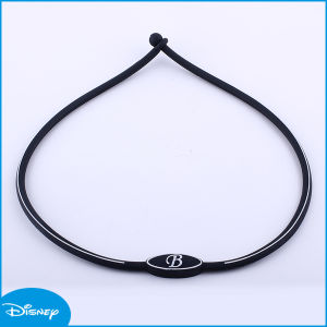 Letter Hot Sale Best Quality Silicone Necklace