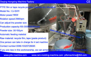 Recycle PTFE Process Machine pictures & photos