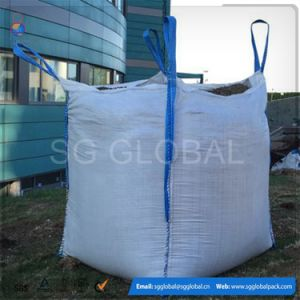 1000kg White PP Big Bag for Packing Sand Cement Soil pictures & photos