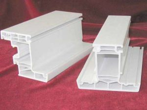 Extruded UPVC Profiles for Window Frameworks pictures & photos