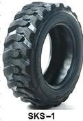15-19.5 Sks-1 Industrial Tyre Skid Steer Tyre pictures & photos