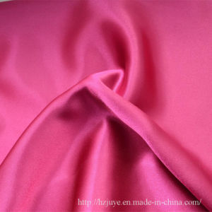 Polyester Stretch Satin Fabric for Garments Lining pictures & photos