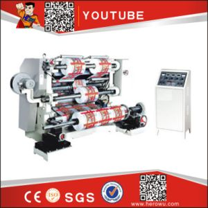 BOPP PE PVC Film Slitter and Rewinder Machinery pictures & photos