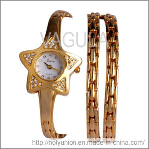 VAGULA Gifts Jewelry Bracelet with Watch (Hlb15657) pictures & photos